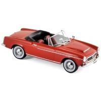 FIAT 1200 Spider, 1959, red