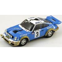 PORSCHE 911 Rally MonteCarlo'78 #3, JP.Nicolas / N.Laverne