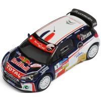 CITROËN DS3 WRC Rally Chablais'13 #1, winner S.Loeb / S.Loeb