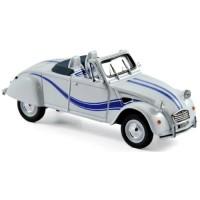 CITROËN 2CV Cabriolet Azelle, 1990, white/blue