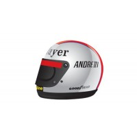 Mario ANDRETTI Helmet, 1977