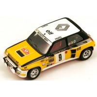 RENAULT R5 Turbo Rally MonteCarlo'81 #9, winner J.Ragnotti / Andrié