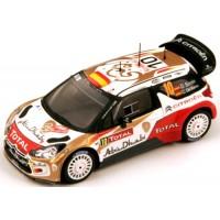 CITROËN DS3 WRC Rally MonteCarlo'13 #10, 3rd D.Sordo / C.DelBarrio