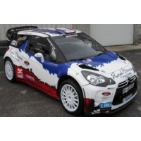 CITROËN DS3 WRC Rally MonteCarlo'13 #21, 5th B.Bouffier / X.Panseri