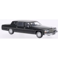 CADILLAC Fleetwood Formal Limousine, 1980, black/matt black