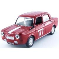 SIMCA Abarth 1150 Monza'64 #177, winner G.Zanchetti
