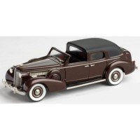 BUICK Limited Derham Town Car, 1938, black/muscovado poly