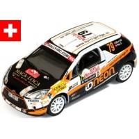 CITROËN DS3 R3 Rally MonteCarlo'11 #79, M.Burri / S.Rey