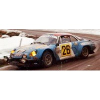 ALPINE RENAULT A110 Rally MonteCarlo'77 #26, F.Hummel / JF.Fauchille