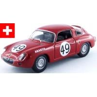 FIAT Abarth 850 S LeMans'60 #49, (ab) T.Spychiger / J.Ferret