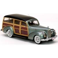 PACKARD 110 Deluxe Wagon, 1941, met.green