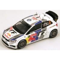 VW Polo WRC Rally MonteCarlo'13 #8, 2nd S.Ogier / J.Ingrassia