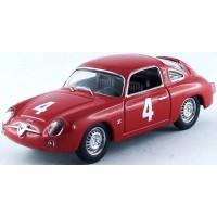 FIAT Abarth 750 Monza'63 #4, winner G.Capra