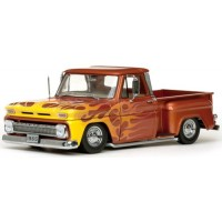 CHEVROLET C-10 Stepside Pick-up Lowrider, 1965,  met.orange