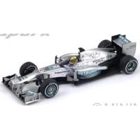 MERCEDES W04 GP GreatBritain'13 #9, winner N.Rosberg