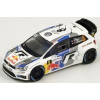 VW Polo WRC Rally France'13 #8, World Champion S.Ogier / J.Ingrassia