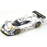 PORSCHE 911 GT1 LeMans'98 #25, 2nd B.Wollek / J.Müller / U.Alzen