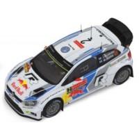 VW Polo R WRC Rally Sweden'14 #2, winner JM.Latvala / M.Antilla