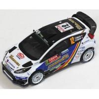 FORD Fiesta RS WRC Rally MonteCarlo'14 #12, F.Delecour / D.Savignoni