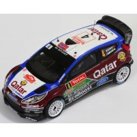 FORD Fiesta RS WRC Rally MonteCarlo'13 #4, M.Ostberg / J.Andersson