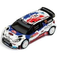 CITROËN DS3 WRC Rally MonteCarlo'13 #22, B.Bouffier / X.Panseri