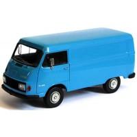HANOMAG F25 Box Van, blue