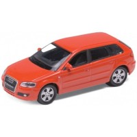 AUDI A3 Sportback, red