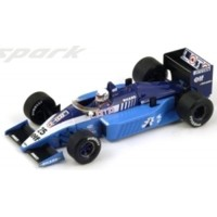 LIGIER JS27 GP GreatBritain'86 #25, R.Arnoux
