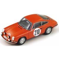 PORSCHE 911T Rally MonteCarlo'68 #210, winner Elford / Stone