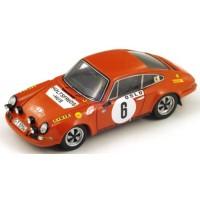 PORSCHE 911 S Rally MonteCarlo'70 #6, winner B.Waldegaard / L.Helmer