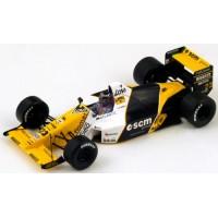 MINARDI M189 GP Japan'89 #23, 6th P.Barilla
