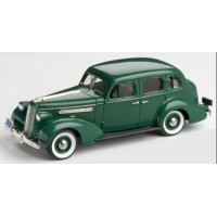 PONTIAC Deluxe Six 4-door Touring Sedan, 1936, neptune green