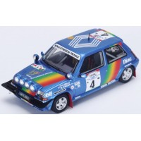 RENAULT R5 GT Turbo Rally IvoryCoast'90 #9, 3rd A.Oreille / M.Roissard