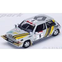 RENAULT R5 GT Turbo Rally IvoryCoast'89 #4, winner A.Oreille / G.Thimonier