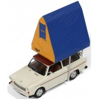 TRABANT 601 Kombi with roof tent, 1980, cream