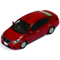 NISSAN Almera, 2012, burning red