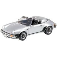 PORSCHE 911 Carrera 3.2 Speedster, 1989, met.silver