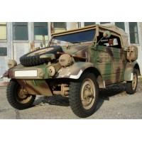 VW Kübelwagen, camouflage