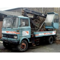 MERCEDES-BENZ LP608 Crane Truck