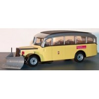 SAURER 3CT1D Bus Postal avec chasseneige