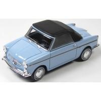 AUTOBIANCHI Bianchina F Cabriolet soft top, 1965, l.blue