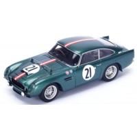 ASTON MARTIN DB4 GT LeMans'59 #21, H.Patthey / J.Calderari