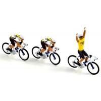 Equipe 3 Cyclistes Tour de France'83