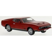 FORD Mustang Mach 1, 1971, red/black