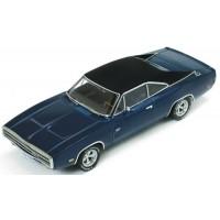 DODGE Charger 500, 1970, blue/black roof