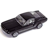 FORD Mustang GT Fastback, 1967, black
