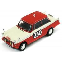 TRIUMPH Herald Saloon Rally MonteCarlo'60 #250, Cleghorn / Wright