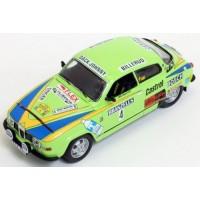 SAAB 96 V4 Rally Sweden'76 #4, winner P.Eklund / B.Cederberg