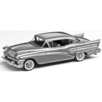 BUICK Roadmaster 75 4-door Sedan, 1958, silver