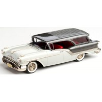 OLDSMOBILE Super 88 Fiesta Station Wagon, 1957, alcan white/charcoal poly